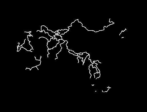 frontière afrique asie